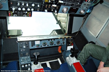 424 Boom Operator position on McDonnell Douglas KC-10 USAF © Michel Anciaux
