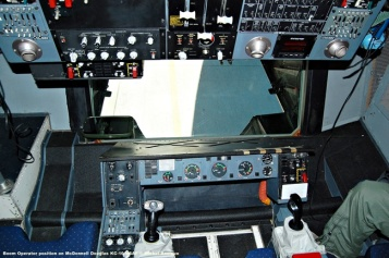 425 Boom Operator position on McDonnell Douglas KC-10 USAF © Michel Anciaux