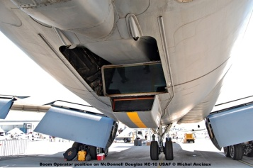 845 Boom Operator position on McDonnell Douglas KC-10 USAF © Michel Anciaux