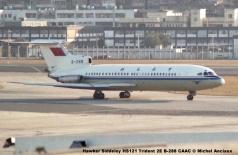 img620 Hawker Siddeley HS121 Trident 2E B-288 CAAC © Michel Anciaux