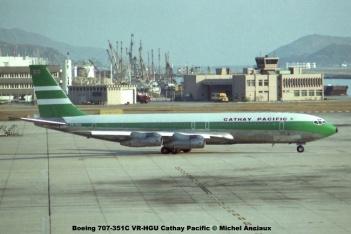 img633 Boeing 707-351C VR-HGU Cathay Pacific © Michel Anciaux