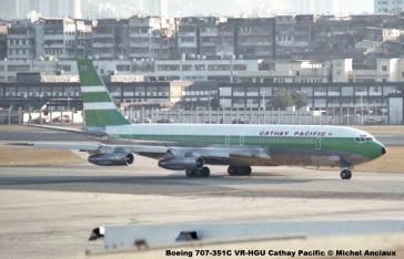 img634 Boeing 707-351C VR-HGU Cathay Pacific © Michel Anciaux