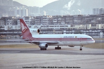 img650 Lockheed L1011-1 TriStar 4R-ALE Air Lanka © Michel Anciaux