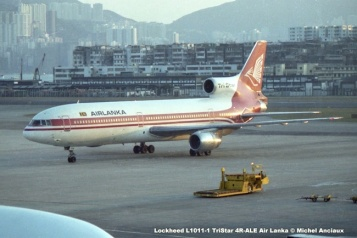img651 Lockheed L1011-1 TriStar 4R-ALE Air Lanka © Michel Anciaux