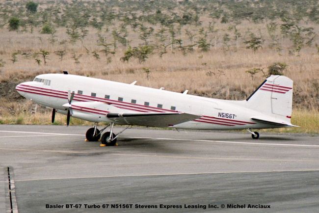 044 Basler BT-67 Turbo 67 N5156T Stevens Express Leasing Inc. © Michel Anciaux