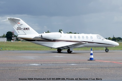 DSC08922 Cessna 525A CitationJet CJ2 OO-AMR ASL Private Jet Services © Luc Barry