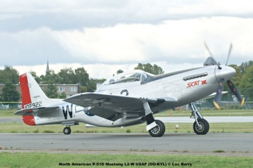 DSC09018 North American P-51D Mustang L2-W USAF (OO-RYL) © Luc Barry
