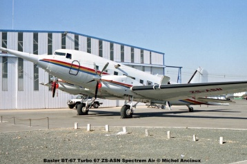 img1321 Basler BT-67 Turbo 67 ZS-ASN Spectrem Air © Michel Anciaux