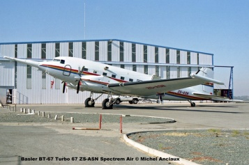 img1322 Basler BT-67 Turbo 67 ZS-ASN Spectrem Air © Michel Anciaux