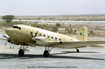 img674 Basler BT-67 Turbo 67 5T-MAH Mauritania Air Force © Michel Anciaux