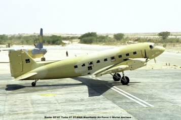 img676 Basler BT-67 Turbo 67 5T-MAH Mauritania Air Force © Michel Anciaux