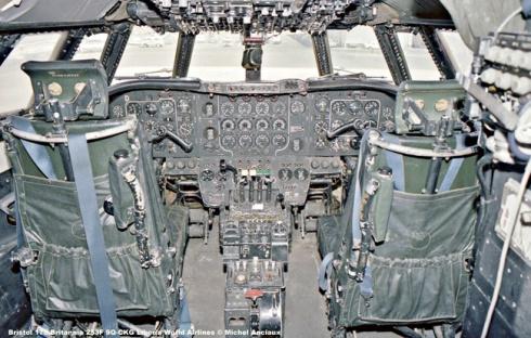 894 Bristol 175 Britannia 253F 9Q-CKG Liberia World Airlines © Michel Anciaux