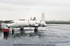 912 Bristol 175 Britannia 253F 9Q-CJH Transair Cargo © Michel Anciaux