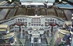 918 Bristol 175 Britannia 253F 9Q-CJH Transair Cargo © Michel Anciaux