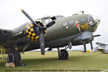 DSC_0228 Boeing B-17G Flying Fortress ''41-24485'' (44-85784 G-BEDF) USAAF (B-17 Preservation Ltd) © Michel Anciaux