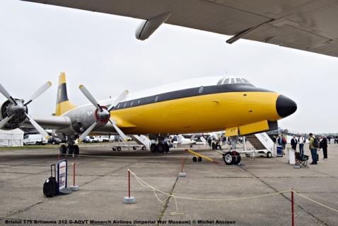 DSC_0508 Bristol 175 Britannia 312 G-AOVT Monarch Airlines (Imperial War Museum) © Michel Anciaux