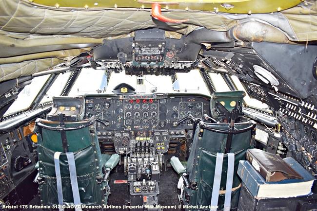 DSC_0509 Bristol 175 Britannia 312 G-AOVT Monarch Airlines (Imperial War Museum) © Michel Anciaux