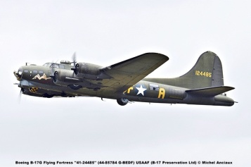 DSC_2065 Boeing B-17G Flying Fortress ''41-24485'' (44-85784 G-BEDF) USAAF (B-17 Preservation Ltd) © Michel Anciaux