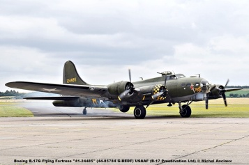 DSC_2136 Boeing B-17G Flying Fortress ''41-24485'' (44-85784 G-BEDF) USAAF (B-17 Preservation Ltd) © Michel Anciaux