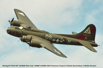 img052 Boeing B-17G-85-VE ''44-8846 Pink Lady'' USAAF (F-AZDX IGN Forteresse Toujours Volante Association) © Michel Anciaux