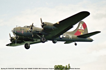 img053 Boeing B-17G-85-VE ''44-8846 Pink Lady'' USAAF (F-AZDX IGN Forteresse Toujours Volante Association) © Michel Anciaux