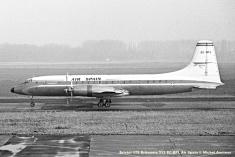 img278 Bristol 175 Britannia 313 EC-BFL Air Spain © Michel Anciaux