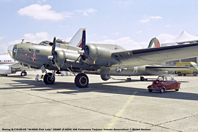 img307 B-17G-85-VE ''44-8846 Pink Lady'' USAAF (F-AZDX IGN Forteresse Toujours Volante Association) © Michel Anciaux