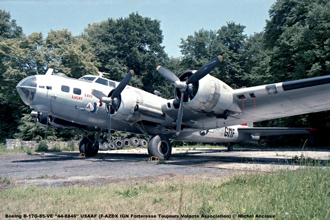 img425 Boeing B-17G-85-VE ''44-8846'' USAAF (F-AZDX IGN Forteresse Toujours Volante Association) © Michel Anciaux