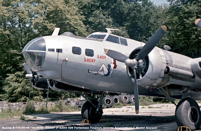 img428 Boeing B-17G-85-VE ''44-8846'' USAAF (F-AZDX IGN Forteresse Toujours Volante Association) © Michel Anciaux