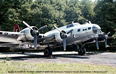 img433 Boeing B-17G-85-VE ''44-8846'' USAAF (F-AZDX IGN Forteresse Toujours Volante Association) © Michel Anciaux