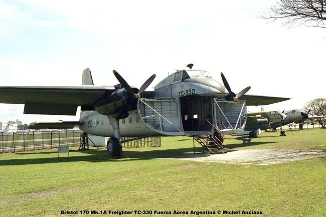img542 Bristol 170 Mk.1A Freighter TC-330 Fuerza Aerea Argentina © Michel Anciaux