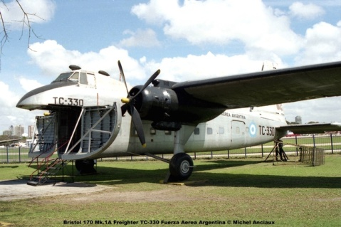 img543 Bristol 170 Mk.1A Freighter TC-330 Fuerza Aerea Argentina © Michel Anciaux