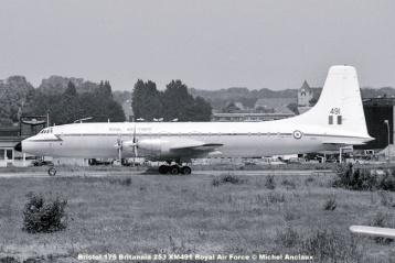 img573 Bristol 175 Britannia 253 XM491 Royal Air Force © Michel Anciaux