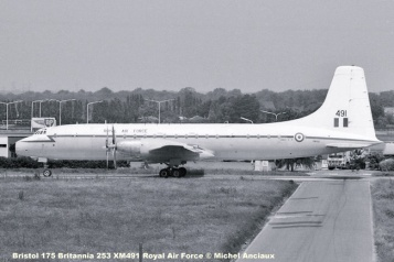 img574 Bristol 175 Britannia 253 XM491 Royal Air Force © Michel Anciaux