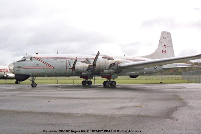 img659 Canadair CP-107 Argus Mk.2 ''10742'' RCAF © Michel Anciaux