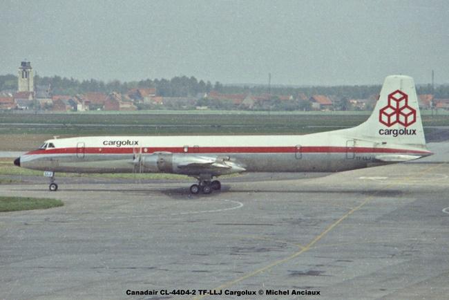 img908 Canadair CL-44D4-2 TF-LLJ Cargolux © Michel Anciaux