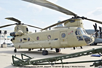 07 Boeing-Vertol CH-45F Chinook ''07-08748'' US Army © Michel Anciaux