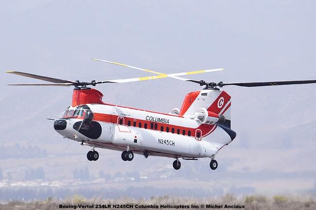 DSC_0019 Boeing-Vertol 234LR N245CH Columbia Helicopters Inc © Michel Anciaux
