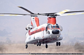 DSC_0033 Boeing-Vertol 234LR N245CH Columbia Helicopters Inc © Michel Anciaux