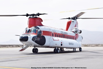 DSC_0039 Boeing-Vertol 234LR N245CH Columbia Helicopters Inc © Michel Anciaux