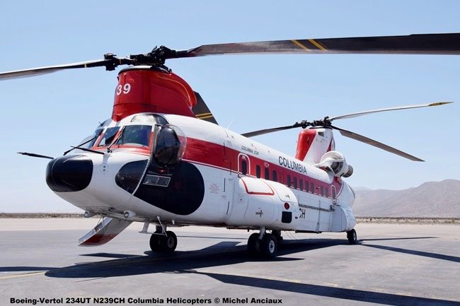 DSC_0076 Boeing-Vertol 234UT N239CH Columbia Helicopters © Michel Anciaux
