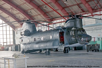 img283 Boeing-Vertol CH-147 (CH-47C) Chinook ''147006'' Canadian Armed Forces © Michel Anciaux