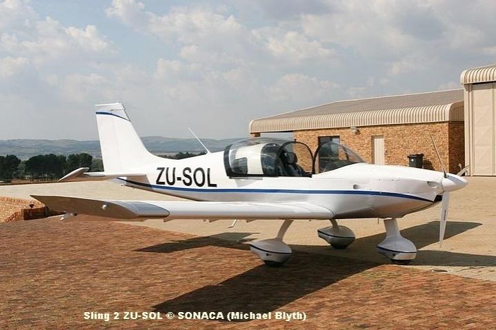 Sling 2 ZU-SOL © SONACA (Michael Blyth)