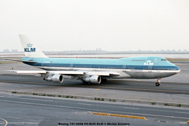 img042 Boeing 747-206B PH-BUG KLM © Michel Anciaux