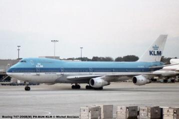 img043 Boeing 747-206B(M) PH-BUN KLM © Michel Anciaux