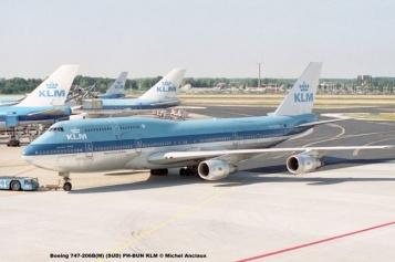 img044 Boeing 747-206B(M) (SUD) PH-BUN KLM © Michel Anciaux