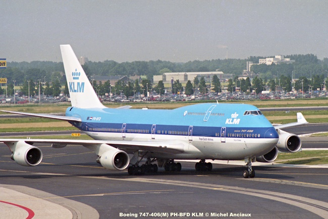 img050 Boeing 747-406(M) PH-BFD KLM © Michel Anciaux