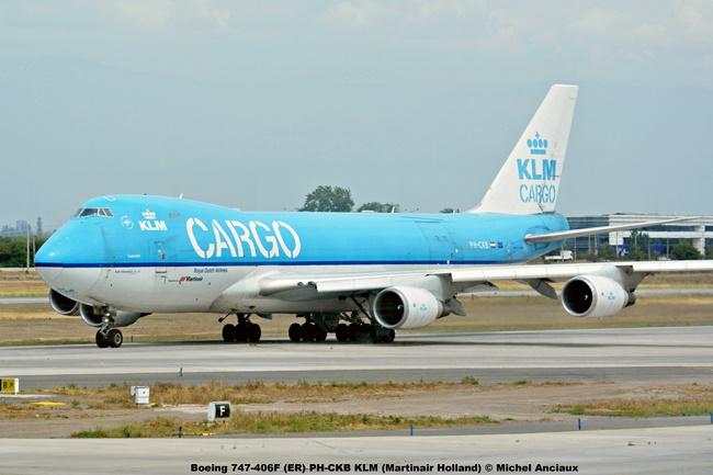img054 Boeing 747-406F (ER) PH-CKB KLM (Martinair Holland) © Michel Anciaux