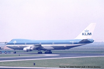 img056 Boeing 747-206B PH-BUF KLM © Michel Anciaux