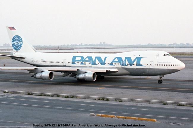 img095 Boeing 747-121 N754PA Pan American World Airways © Michel Anciaux